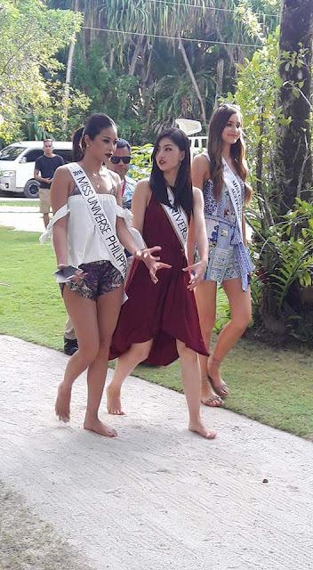 Miss Japan - Sari Nakazawa (Middle)