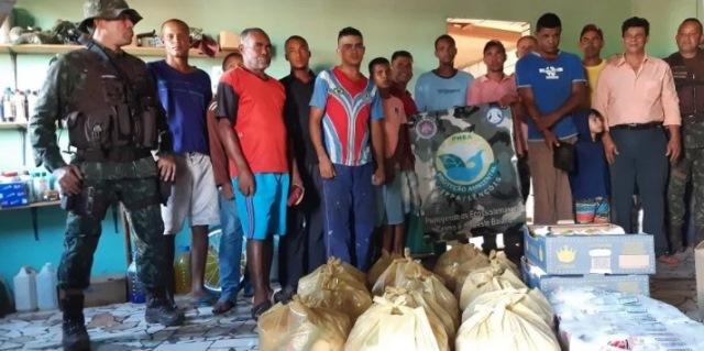 Cippa Lençóis distribui alimentos a população carente na Chapada Diamantina