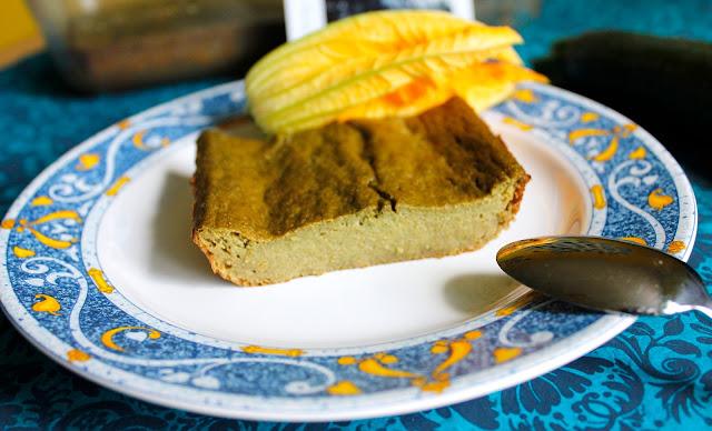 gâteau vert émeraude