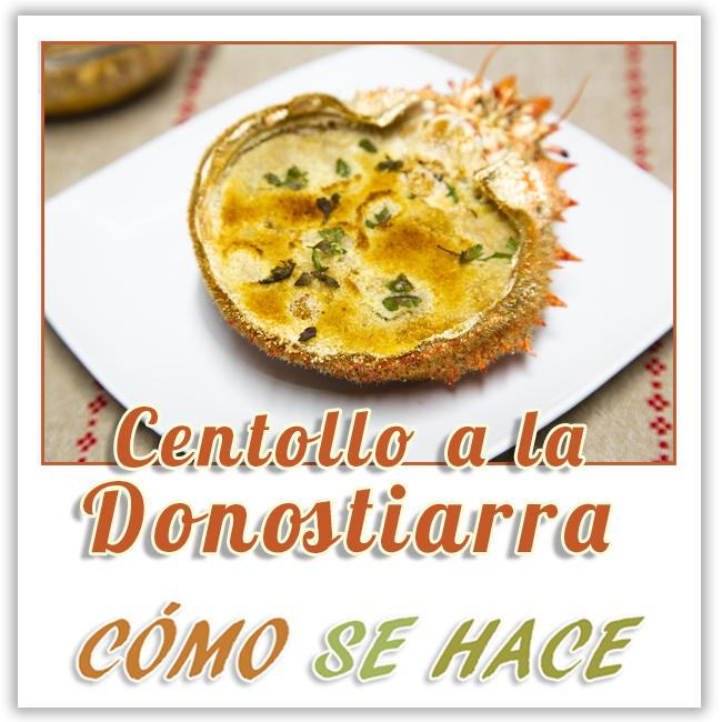 CENTOLLO A LA DONOSTIARRA