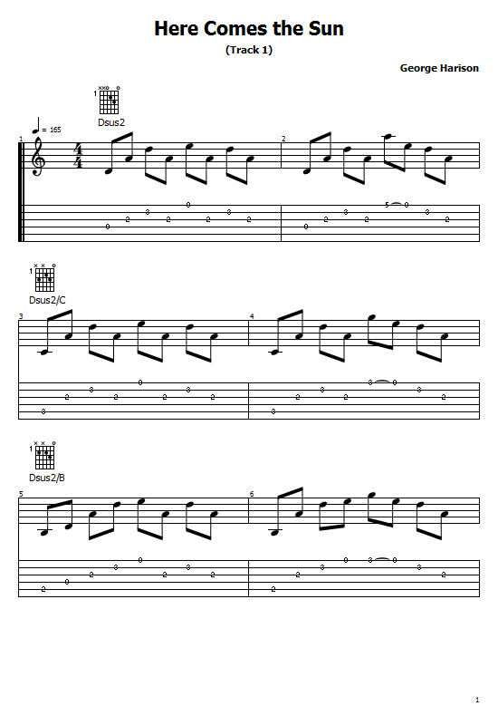 Here Comes the Sun Tabs George Harrison. How To Play Here Comes the Sun On Guitar Chords Free Tabs/ Sheet Music. George Harrison.