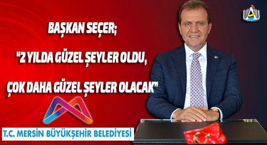 Vahap Seçer,Mersin Büyükşehir Belediyesi,SİYASET,Mersin Haber,