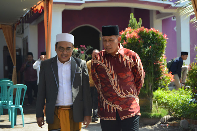 Danlanal Mataram Silaturahmi Ke Ponpes Al - Madani
