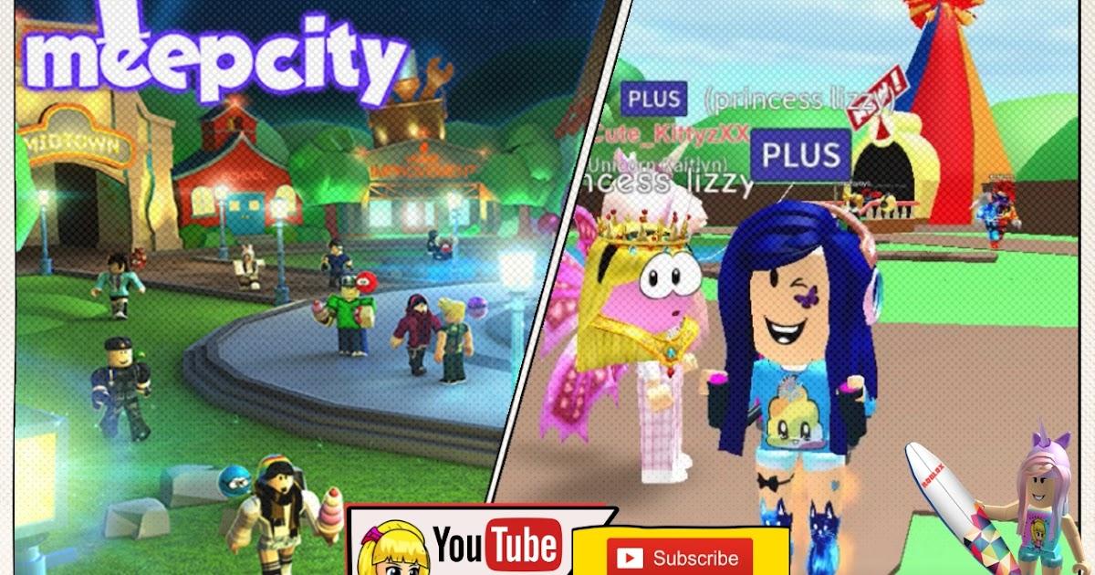 Roblox Meep City Gameplay - with Unicorn Kaitlyn (XxCute ...