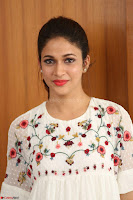 Lavanya Tripathi in Summer Style Spicy Short White Dress at her Interview  Exclusive 240.JPG