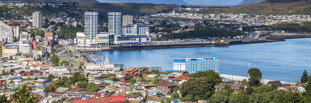 City of Puerto Montt, Chile.