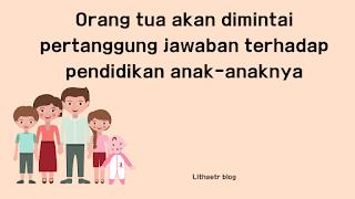 tanggung jawab orang tua kepada anak