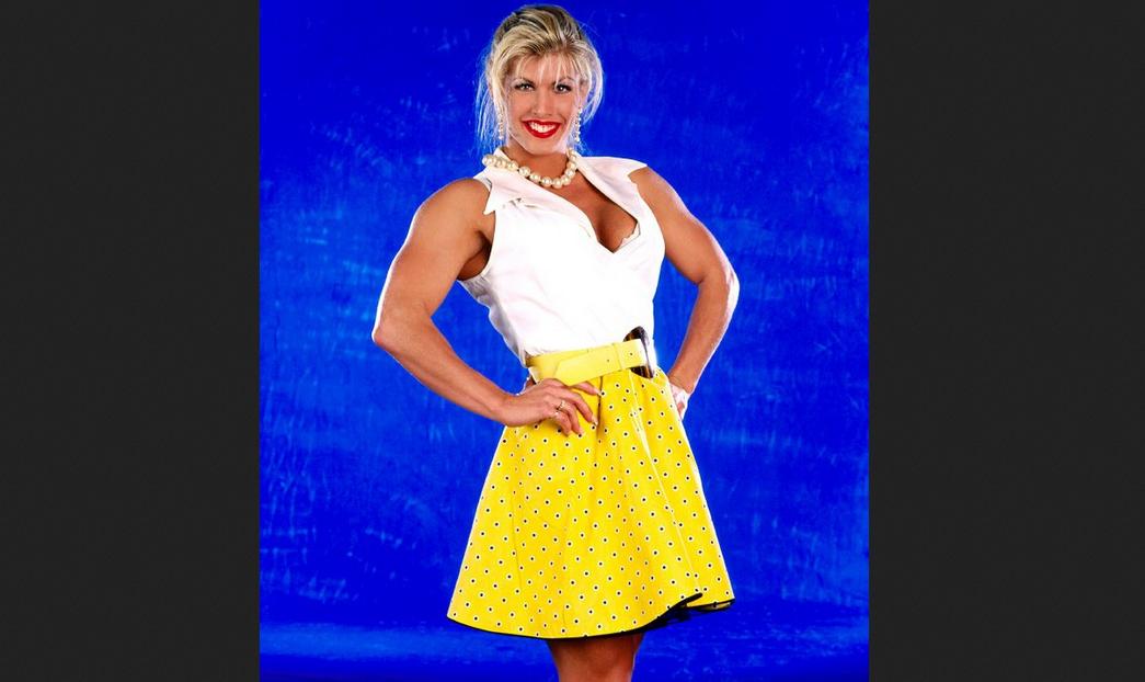 Marianna Komlos Female Bodybuilding Pro Wrestling