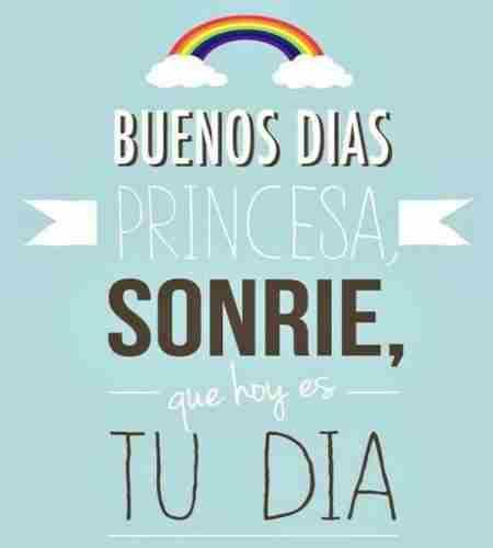 Sonríe princesa, que siempre estaré contigo