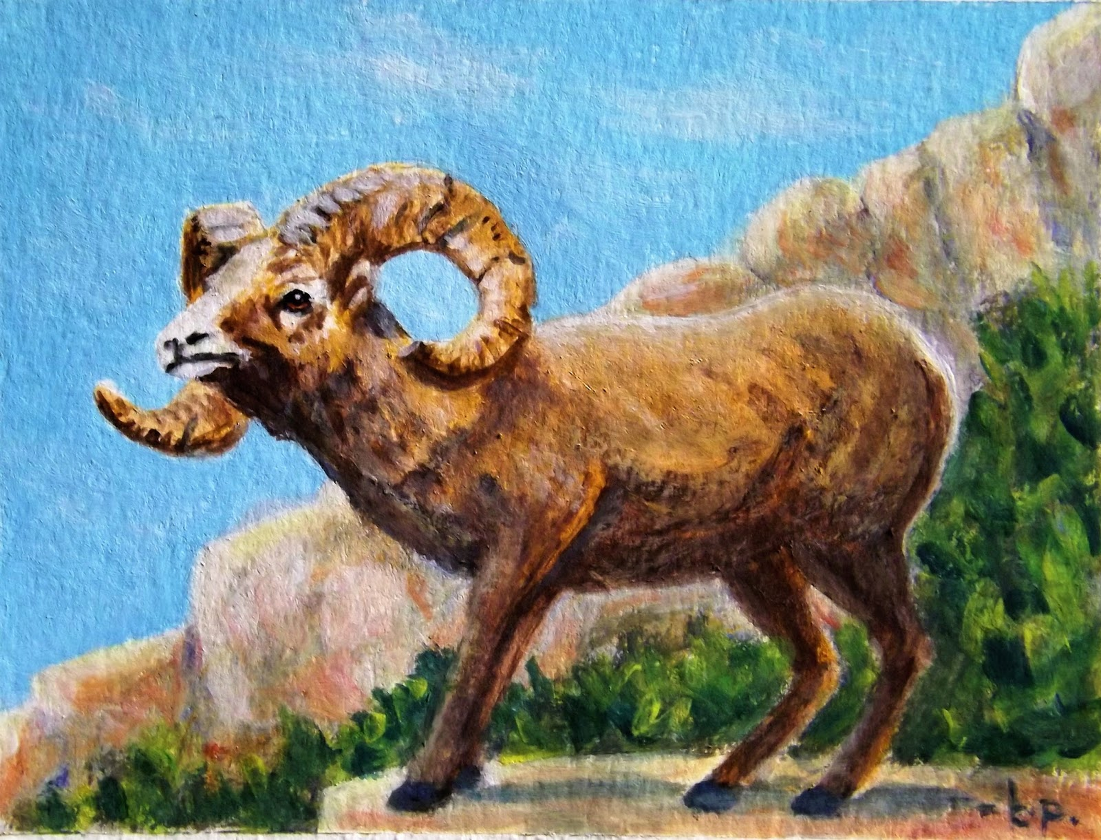 The Adverse Effects of Climate Change on Desert Bighorn Sheep