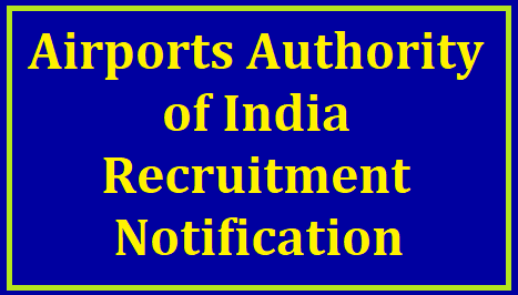 Airports Authority of India Recruitment Notification 2020