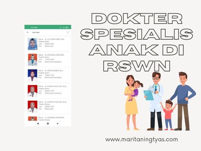 dokter spesialis anak di RSWN Semarang