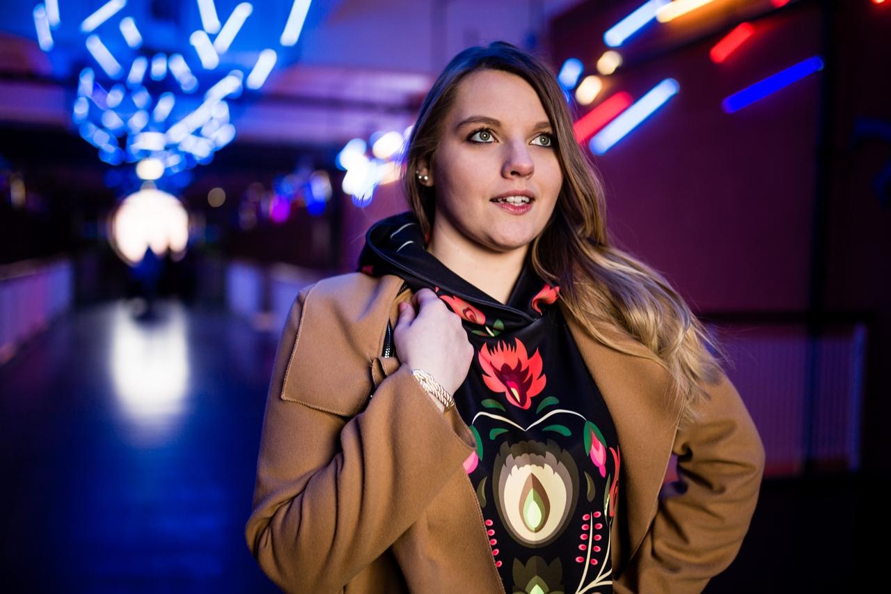 5 folk by koko recenzje opinie jakość sukienka bluza z motywem łowickim kodra folkowe ubrania motywy eleganckie folkowe dodatki kodra łowicka góralskie róże stylizacja polska blogerka łódź moda melodylaniella
