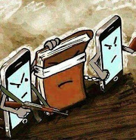 Imágenes satíricas sobre la sociedad del presente