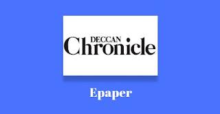 Deccan Chronicle Epaper