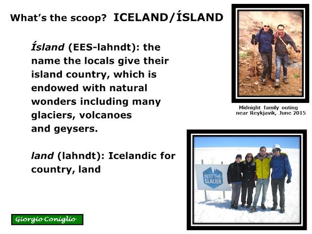travel; Iceland;Icelandic language; volcano; geyser; glacier; climate; Giorgio Coniglio