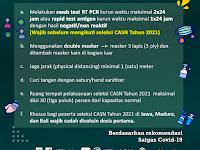Netizen Ramai Protes : Wajib Swab PCR Antigen Sebelum Mengikuti Tes SKD CPNS