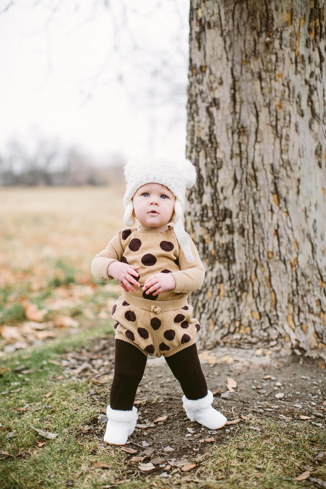 One Year Old Outfit, GAP outfit, Winter baby