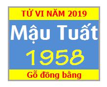 Tử Vi Tuổi Mậu Tuất 1958 Năm 2019 Nam Mạng -nữ Mạng
