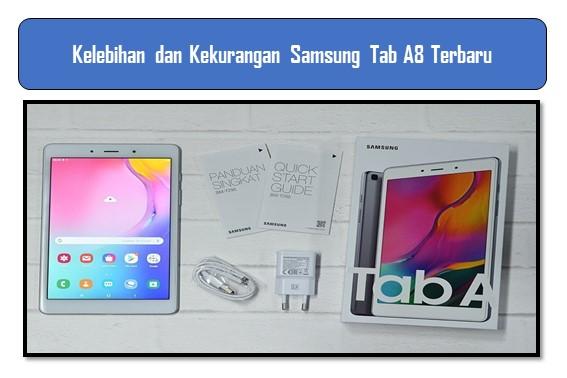 Kelebihan dan Kekurangan Samsung Tab A8 Terbaru