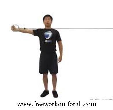 تمرين لابراز الخط الأوسط  للصدر