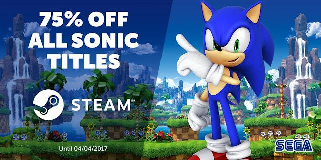 Hay grandes ofertas de Sonic en Steam