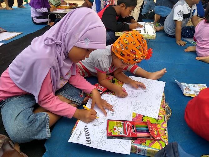 Ikut Lomba Mewarnai,Bisa Mengasah Keberanian dan Kreativitas Anak