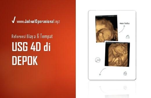 USG 4D di Depok