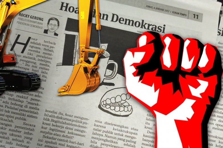 Demokrasi, Peran Media dan Tantangan Intoleransi di Indonesia