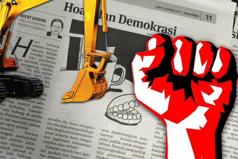 Hasil gambar untuk demokrasi, media