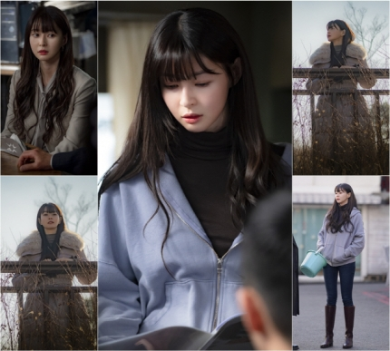Actress Kwon Nara has unveiled a still cut of five 'Emotional Sua' for the upcoming broadcast 'Itaewon Class'