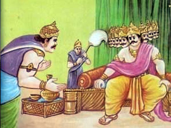 Khara's death news reaches Ravana