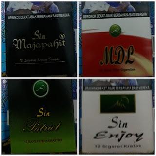 Rokok Terapi Herbal Sin Sapu Jagat Kretek