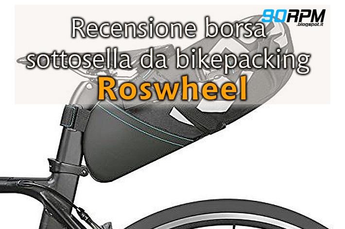 Borsa sottosella da bikepacking.