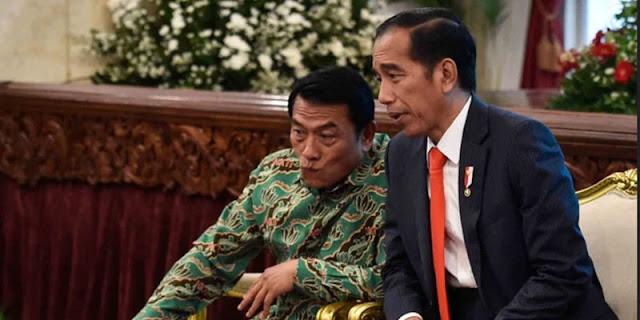 Manuver Moeldoko, Presiden Jokowi Harus Bersikap, Jika Tidak Bisa Timbul Mosi Tak Percaya Rakyat