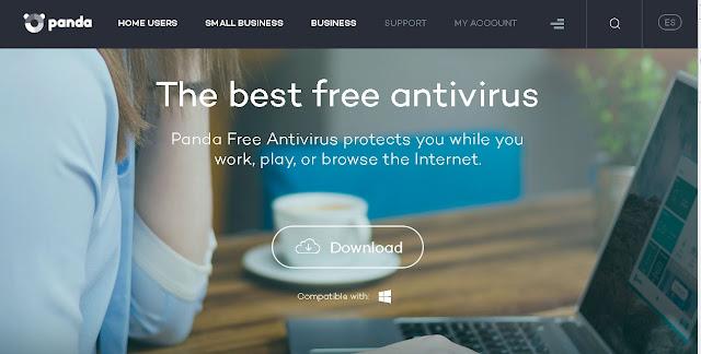 panda antivirus site