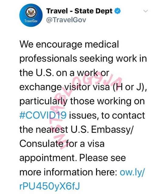 COVID-19: US begs doctors, nurses to come for visas, as coronavirus cases surpasses that of China