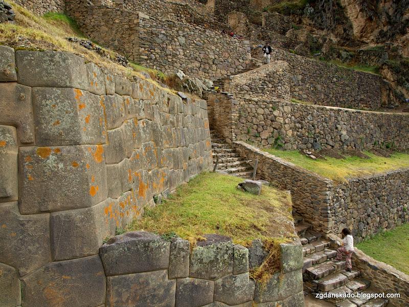 Ruiny w Ollantaytambo