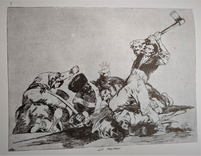 Goya's etching: Lo mismo