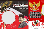 15 Link Twibbon Hari Lahir Pancasila 1 Juni 2021 Terbaru