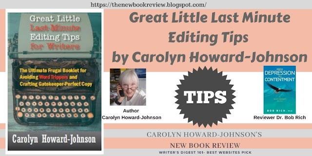Aussie Dr. Bob Rich Reviews Great Little Last Minute Editing Tips
