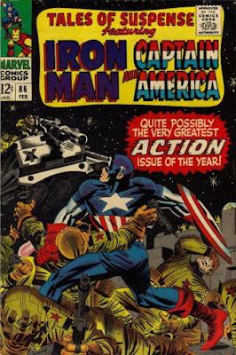 Tales of Suspense #86, Captain America