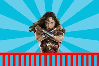 Película de la Mujer Maravilla: Invitaciones para Imprimir Gratis.