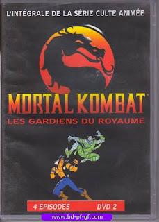 Dvd, Mortal Kombat, les gardiens du Royaume, 1996