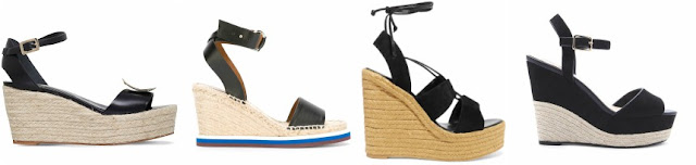 Three of these pairs of espadrille wedges are from designers for $620+ and one is from Forever 21 on sale for $24. Can you guess which one is the more affordable pair?