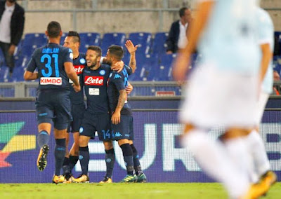 Highlight Lazio 1-4 Napoli, 22 September 2017