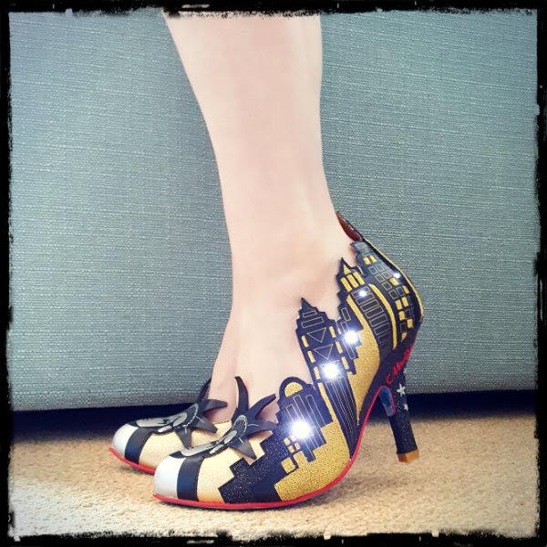irregular choice new york light up shoes