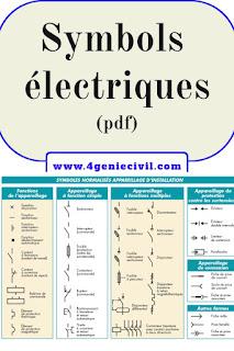 Symboles normalisés pour schémas d'installations électriques