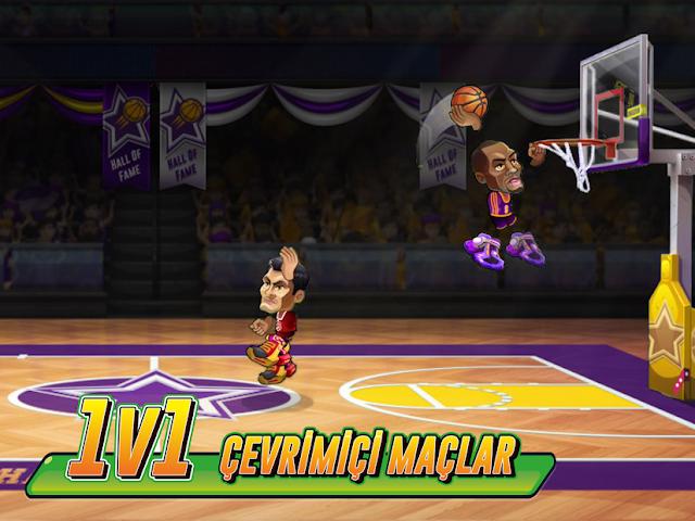 Basketbol Arena Hileli APK - Para Hileli APK