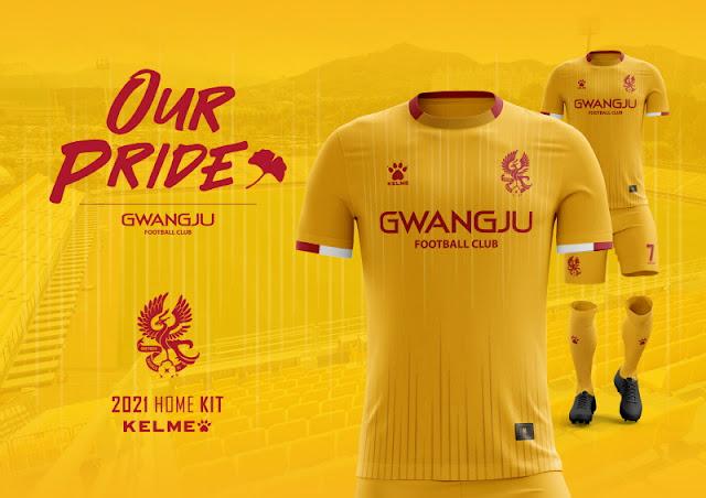Gwangju FC 2021 Kits